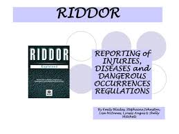 When should report Coronavirus under RIDDOR?